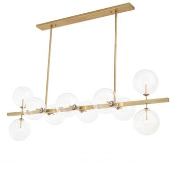 Lustre chandelier largo laiton l176cm h60 5cm eichholtz normal