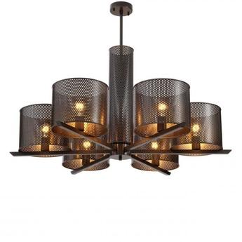 Lustre chandelier morrison bronze o109cm h55 5cm eichholtz normal