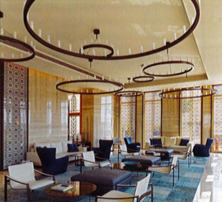 Chandelier david chipperfield lustre chandelier  fontana arte chandelier noir 5491 1n  design signed nedgis 65522 product
