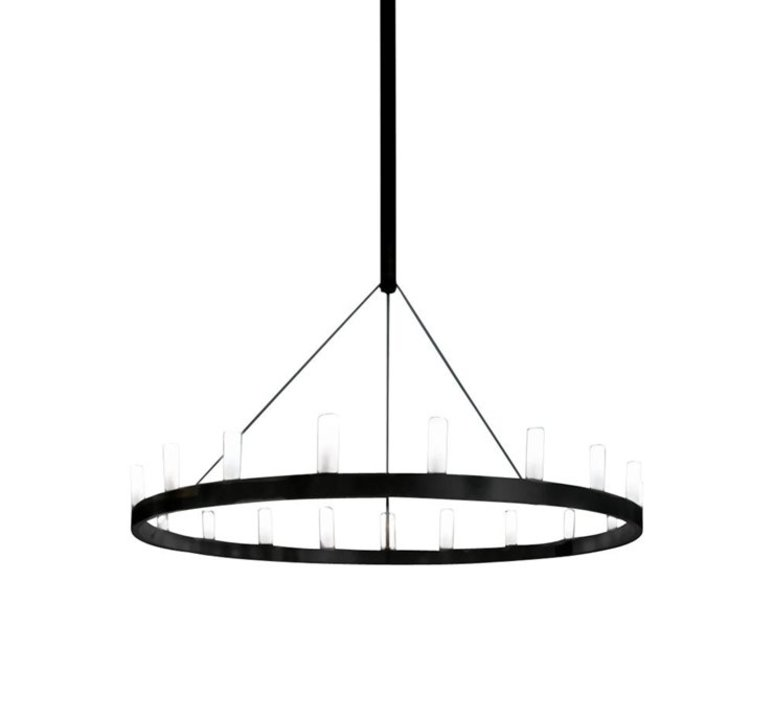 Chandelier david chipperfield lustre chandelier  fontana arte chandelier noir 5491 1n  design signed nedgis 65532 product