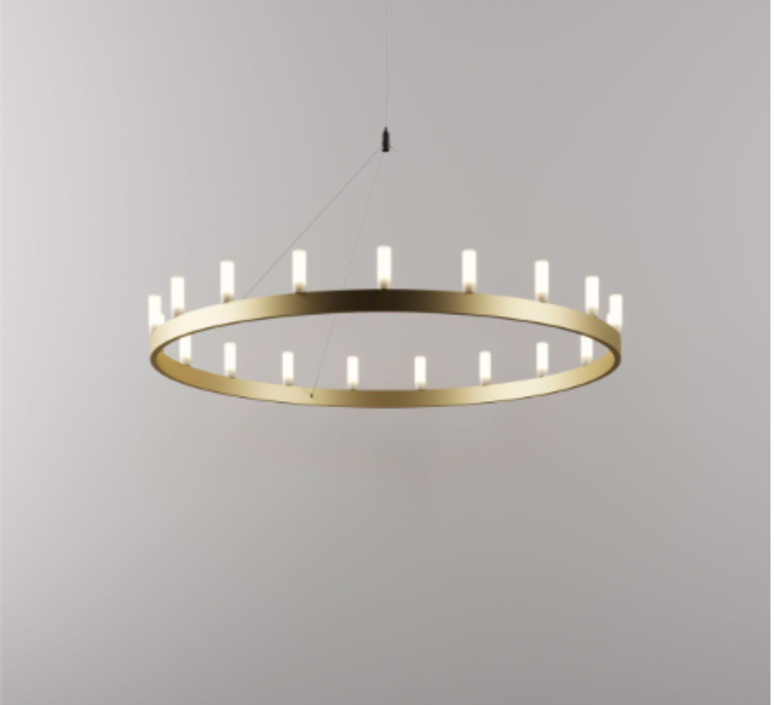Chandelier david chipperfield lustre chandelier  fontana arte chandelier gold 5491 1oo  design signed nedgis 65534 product