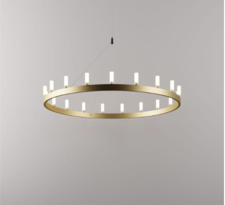 Chandelier david chipperfield lustre chandelier  fontana arte chandelier gold 5491oo  design signed nedgis 65533 product
