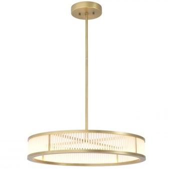 Lustre chandelier thibaud s laiton o70cm h15cm eichholtz normal