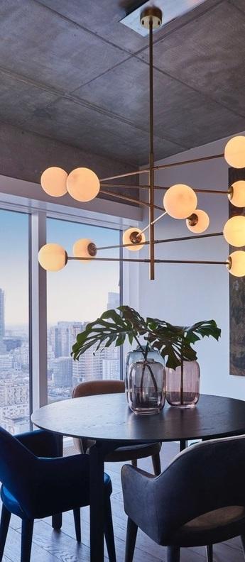 Lustre chandelier tortora s laiton o122cm h69cm eichholtz normal