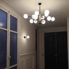 Charlotte 12 globes daniel gallo lustre chandelier  daniel gallo charlotte 12 globes  design signed nedgis 81612 thumb