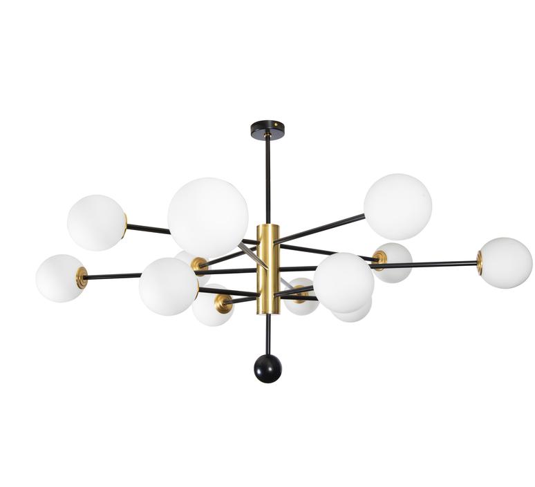 Charlotte 12 globes daniel gallo lustre chandelier  daniel gallo charlotte 12 globes  design signed nedgis 81613 product