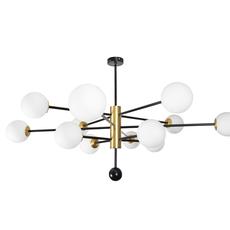 Charlotte 12 globes daniel gallo lustre chandelier  daniel gallo charlotte 12 globes  design signed nedgis 81613 thumb