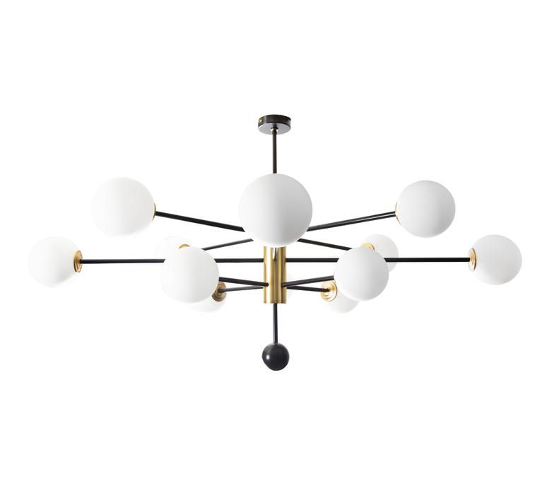 Charlotte 12 globes daniel gallo lustre chandelier  daniel gallo charlotte 12 globes  design signed nedgis 81614 product