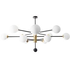 Charlotte 12 globes daniel gallo lustre chandelier  daniel gallo charlotte 12 globes  design signed nedgis 81614 thumb