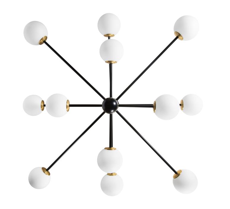 Charlotte 12 globes daniel gallo lustre chandelier  daniel gallo charlotte 12 globes  design signed nedgis 81615 product