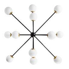 Charlotte 12 globes daniel gallo lustre chandelier  daniel gallo charlotte 12 globes  design signed nedgis 81615 thumb