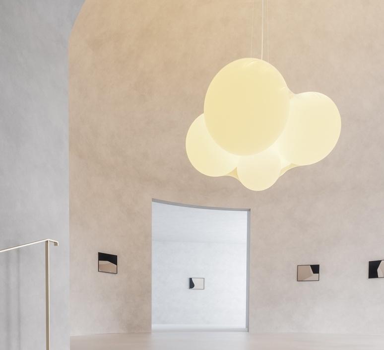 Cloudy dima loginoff lustre chandelier  axolight spcloudybcxxled  design signed nedgis 110967 product
