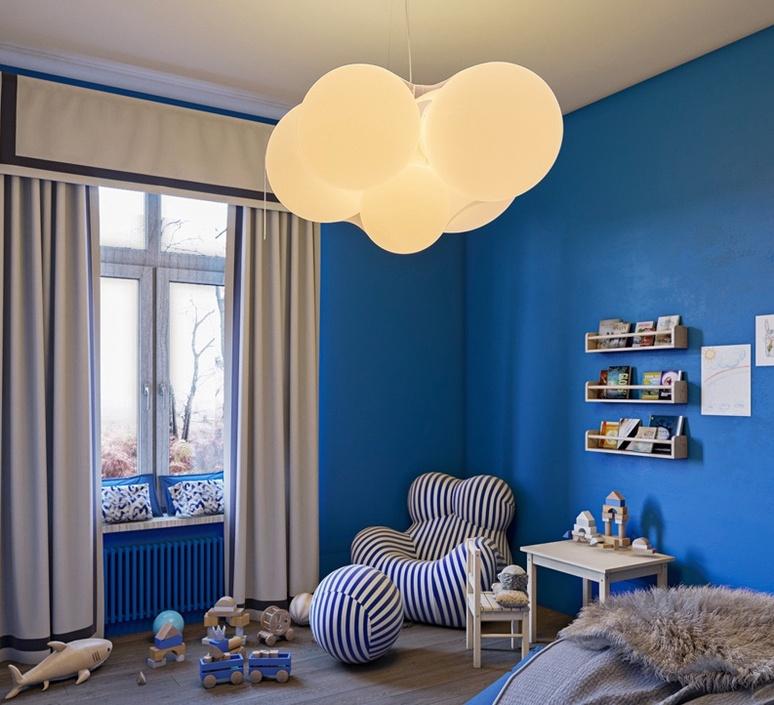 Cloudy dima loginoff lustre chandelier  axolight spcloudybcxxled  design signed nedgis 110970 product