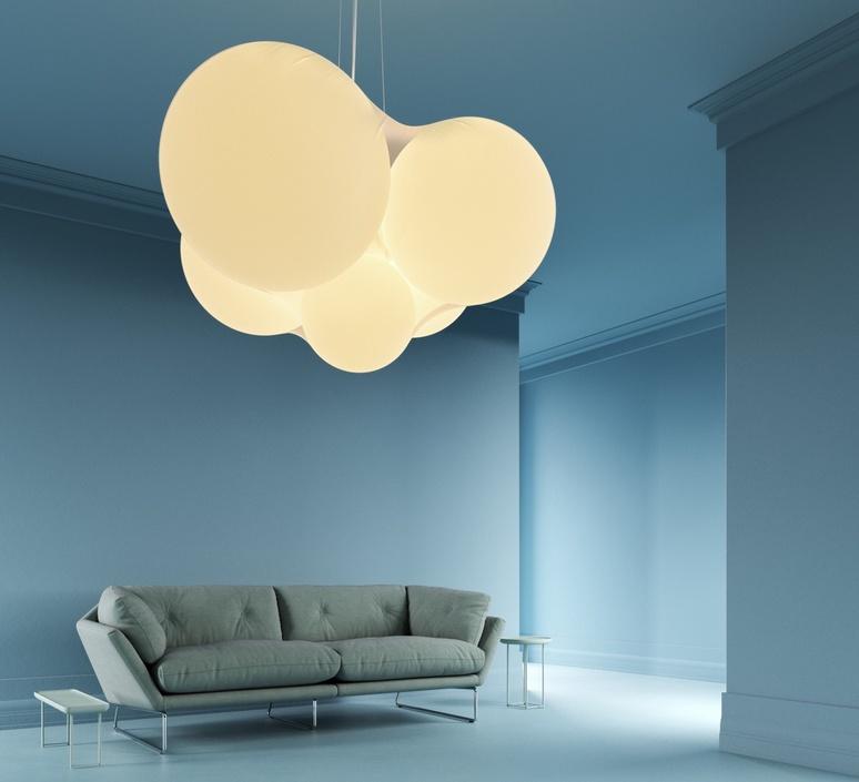 Cloudy dima loginoff lustre chandelier  axolight spcloudybcxxled  design signed nedgis 110971 product