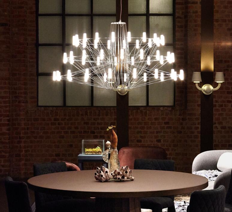Coppelia arihiro miyake lustre chandelier  moooi molcos   design signed 37467 product