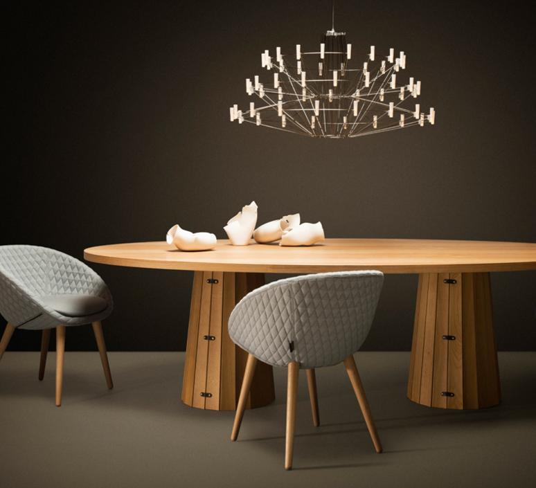 Coppelia arihiro miyake lustre chandelier  moooi molcos   design signed 37470 product
