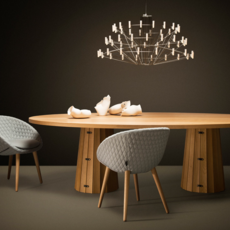 Coppelia arihiro miyake lustre chandelier  moooi molcos   design signed 37470 thumb