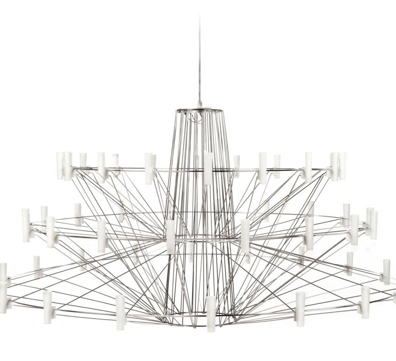 Coppelia arihiro miyake lustre chandelier  moooi molcos   design signed 37472 product