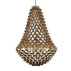 Crown large grietje schepers lustre chandelier  jspr crown large bronze  design signed nedgis 98461 thumb