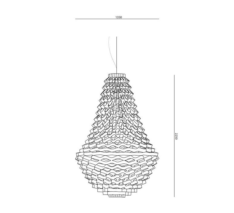 Crown large grietje schepers lustre chandelier  jspr crown large bronze  design signed nedgis 98462 product