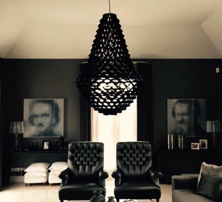 Crown large grietje schepers jspr crown large black luminaire lighting design signed 29226 product