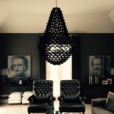 Crown large grietje schepers jspr crown large black luminaire lighting design signed 29226 thumb