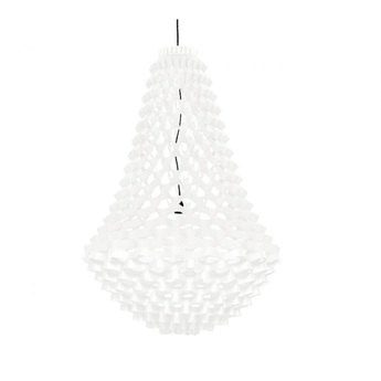 Lustre crown medium blanc h135cm jspr normal