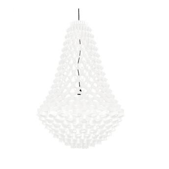 Lustre crown medium blanc h135cm jspr normal