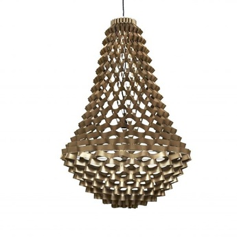 Lustre crown medium bronze h135cm 80cm jspr normal