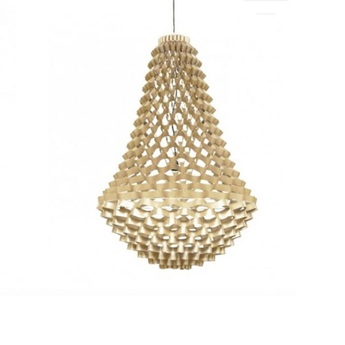 Lustre crown medium champagne h135cm o80cm jspr normal
