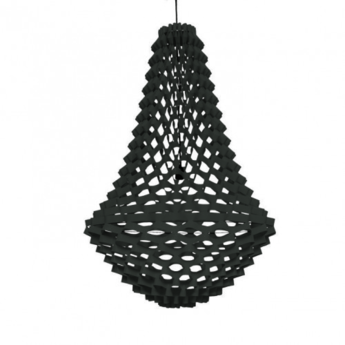 Lustre crown medium noir h135cm jspr normal
