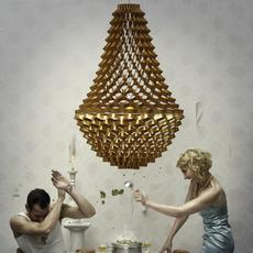 Crown medium grietje schepers jspr crown medium gold luminaire lighting design signed 12049 thumb