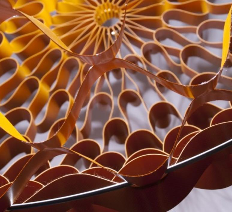 Crown medium grietje schepers jspr crown medium orange luminaire lighting design signed 12066 product