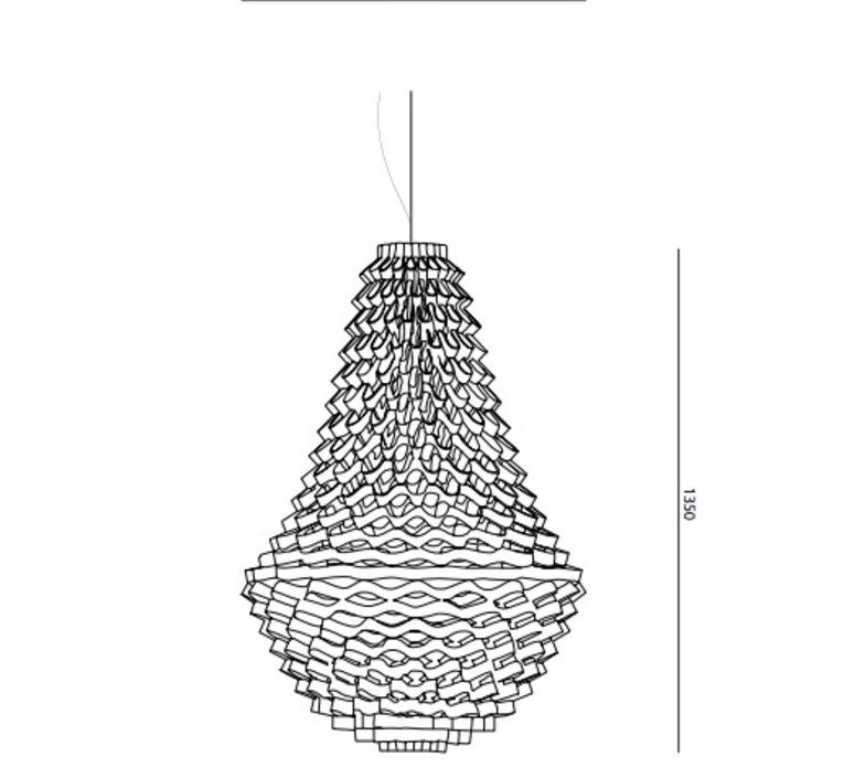 Crown medium grietje schepers jspr crown medium orange luminaire lighting design signed 12068 product