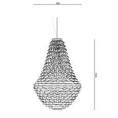 Crown medium grietje schepers jspr crown medium orange luminaire lighting design signed 12068 thumb