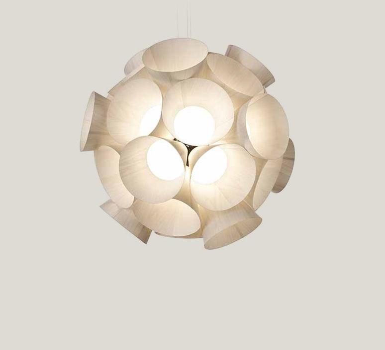 Dandelion burkhard dammer lustre chandelier  lzf ddln s 20 led dim0 10v   design signed nedgis 82600 product