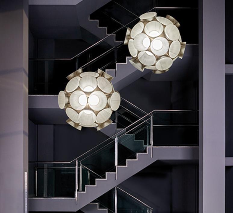 Dandelion burkhard dammer lustre chandelier  lzf ddln s 20 led dim0 10v   design signed nedgis 82602 product