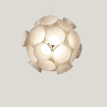 Lustre dandelion blanc led 3000kk 3461lm o85cm h81cm lzf normal