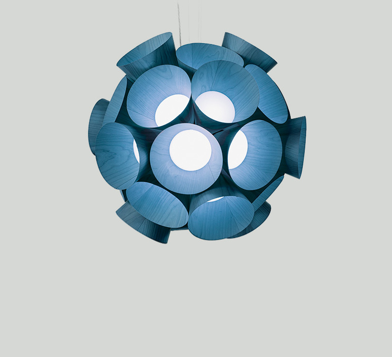 Dandelion burkhard dammer lustre chandelier  lzf ddln s 28 led dim0 10v   design signed nedgis 82606 product