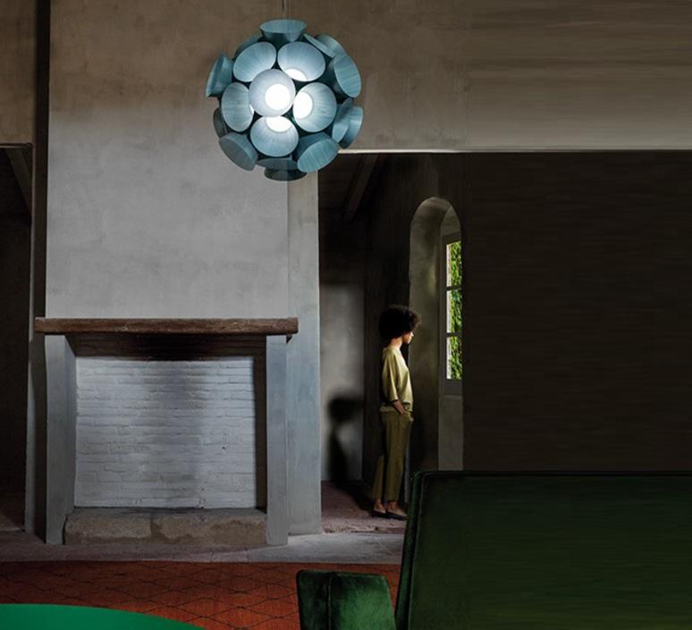 Dandelion burkhard dammer lustre chandelier  lzf ddln s 28 led dim0 10v   design signed nedgis 82608 product