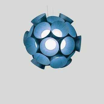 Lustre dandelion bleu led 3000kk 3461lm o85cm h81cm lzf normal