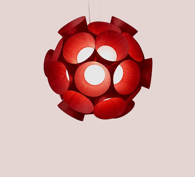 Dandelion burkhard dammer lustre chandelier  lzf ddln s 26 led dim0 10v   design signed nedgis 82594 product