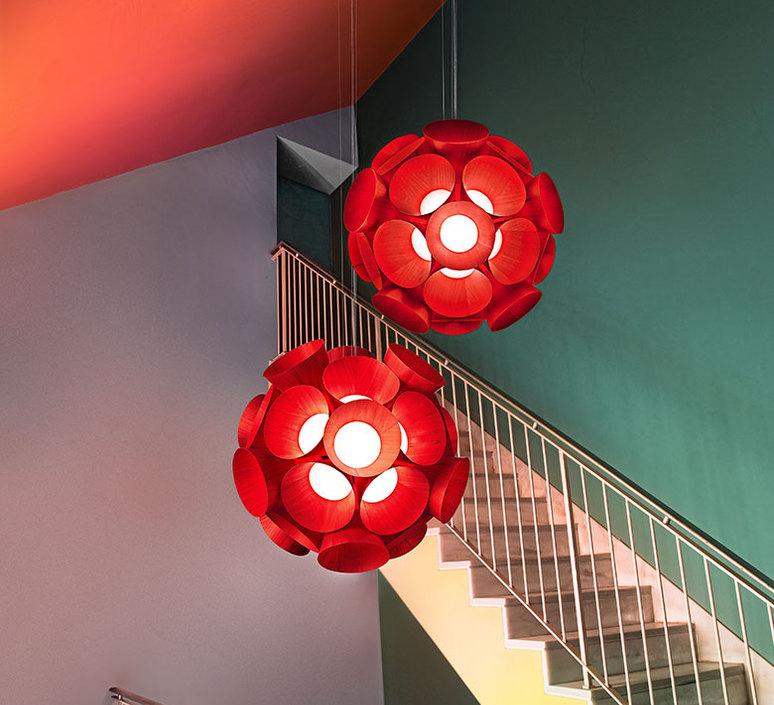 Dandelion burkhard dammer lustre chandelier  lzf ddln s 26 led dim0 10v   design signed nedgis 82596 product