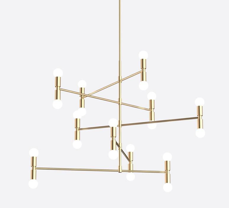 Dot 14 studio lambert fils lustre chandelier  lambert fils dot14abra  design signed nedgis 114822 product