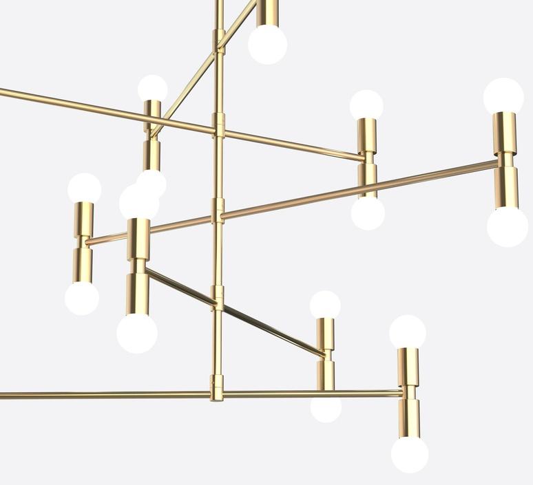 Dot 14 studio lambert fils lustre chandelier  lambert fils dot14abra  design signed nedgis 114823 product