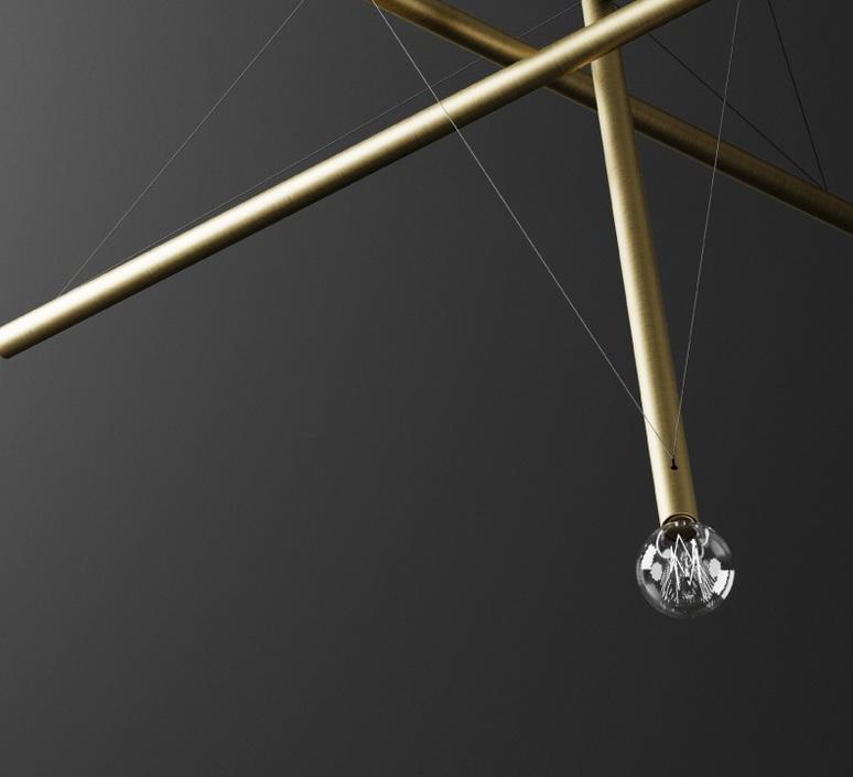 Ed036 edizioni design lustre chandelier  edizioni ed036  design signed nedgis 63709 product