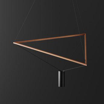 Lustre ed037 noir bois o82cm h80cm edizioni normal