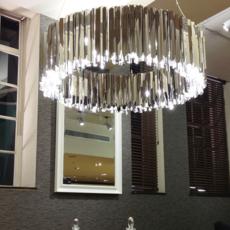 Facet 100 tom kirk lustre chandelier  innermost pf03916003  design signed 36369 thumb