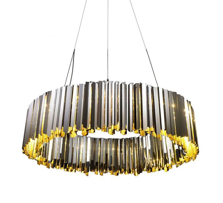 Facet 100 tom kirk lustre chandelier  innermost pf03916003  design signed 36373 product