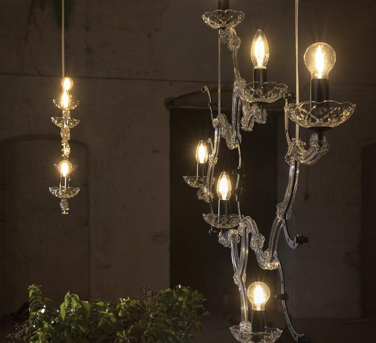 Ghebo luca de bona et dario de meo lustre chandelier  karman ghebo se146 1n int  design signed 37752 product